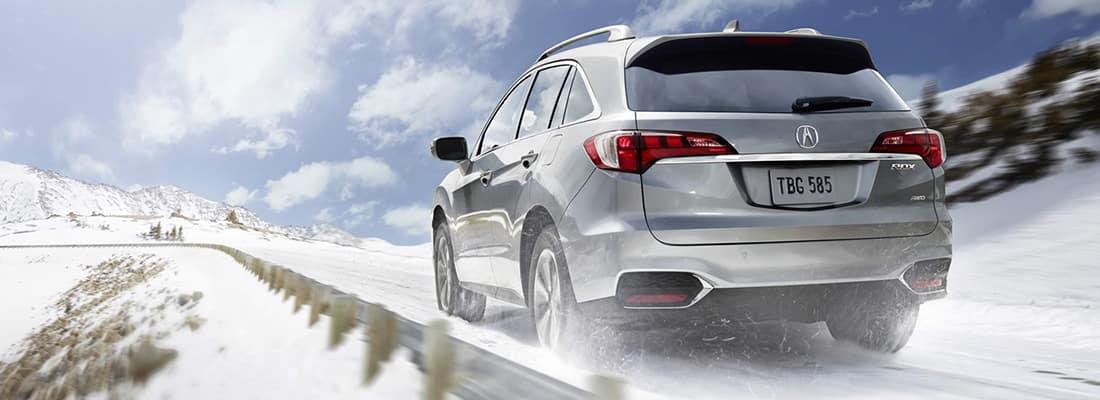 2018 Acura RDX Snowy