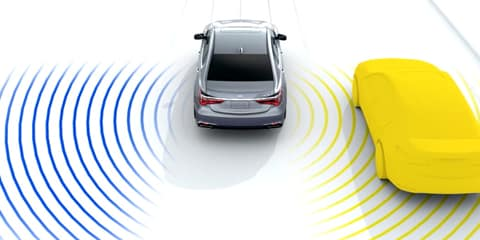2018 Acura RLX Blind Spot Information System