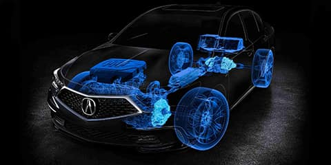 2018 Acura RLX Sport Hybrid System