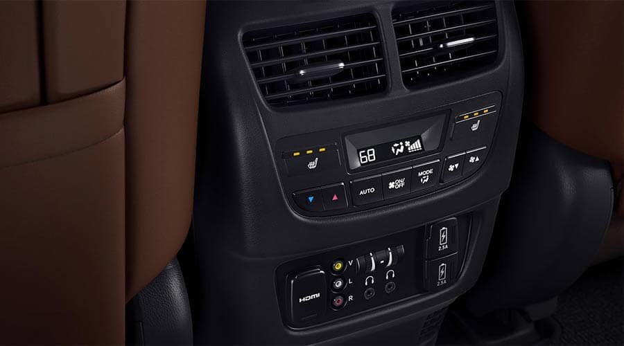 2018 Acura MDX Entertainment Package Rear Control Center