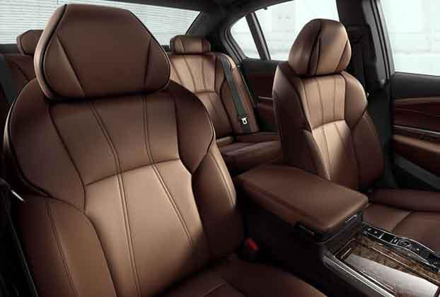 2018 Acura RLX Milano Leather Seats