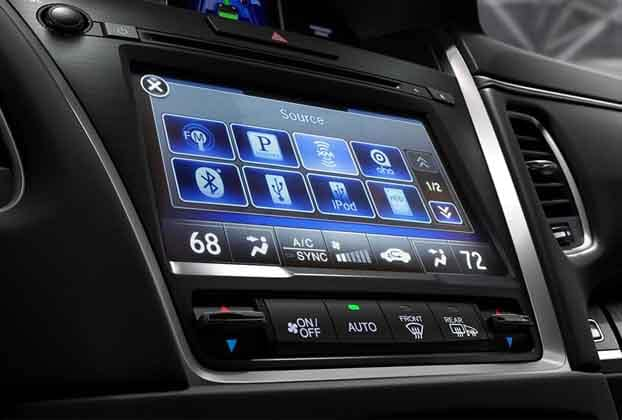 2018 Acura RLX On Demand Multi-Use Display
