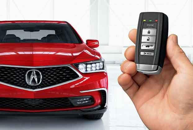 2018 Acura RLX Remote Engine Start