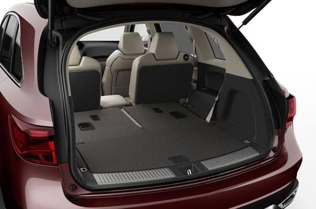 2018 Acura MDX Folded Seat