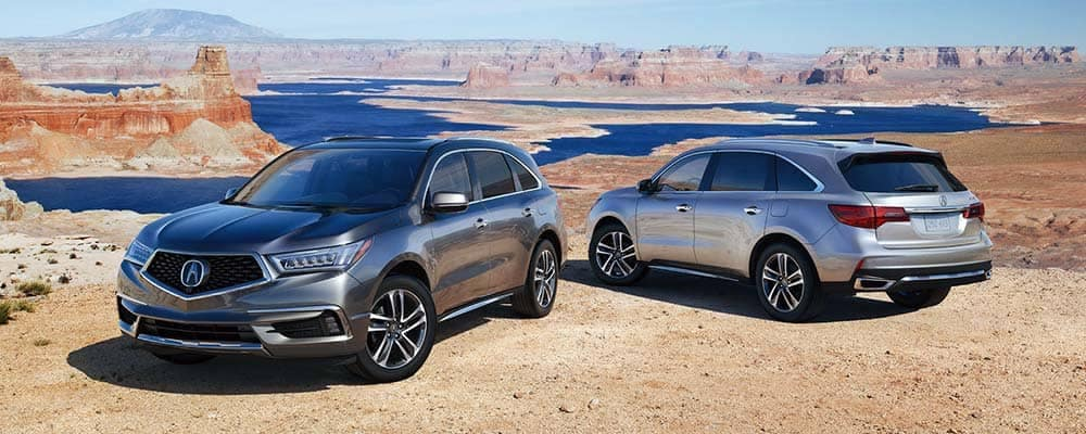 2018 Acura MDX Two Vehicles