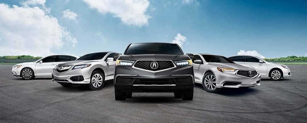 2018 Acura Model Lineup
