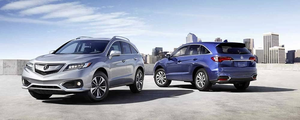 2018 Acura RDX Two Vehicles