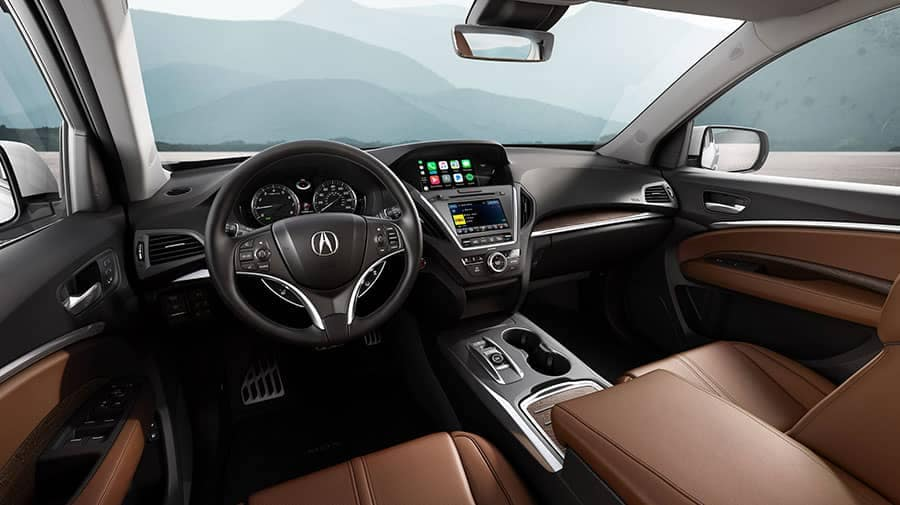 2018 Acura MDX with Advance Pkg Espresso Interior