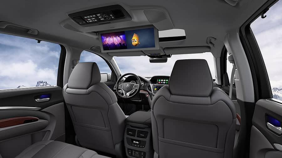 2018 Acura MDX with Advance and Entertainment Pkgs Graystone Interior