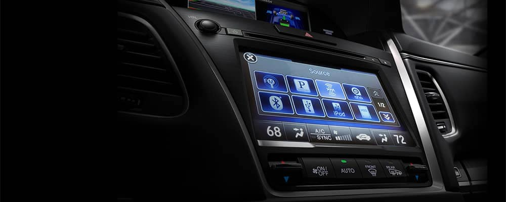 2018 Acura RLX Touch Screen Radio