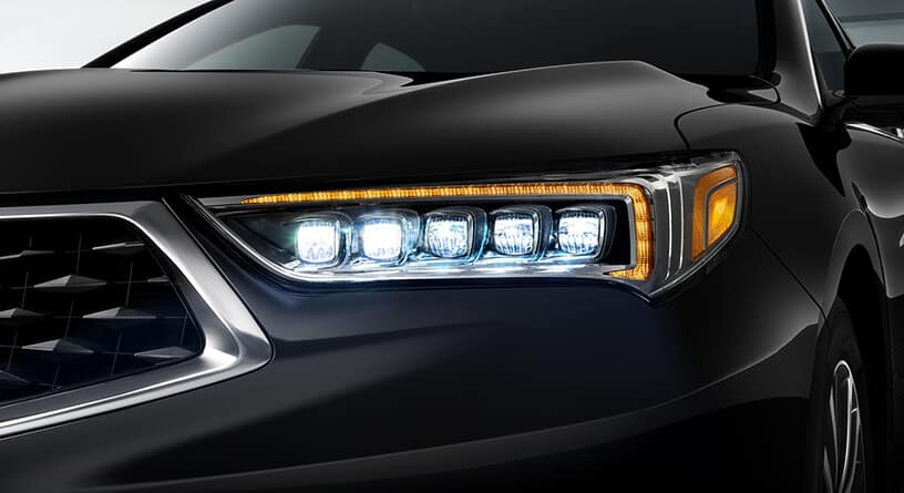 2018 Acura TLX Headlight