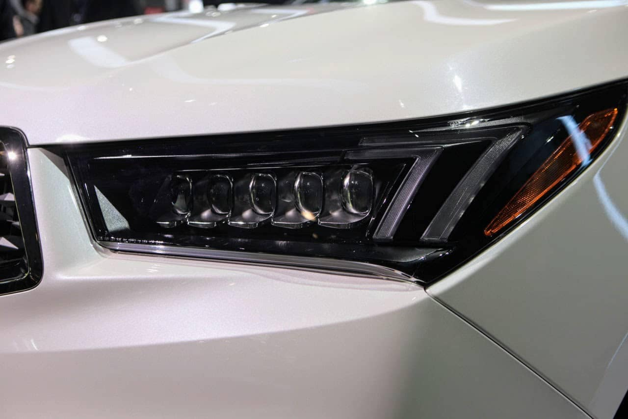 2019 Acura MDX A-Spec Headlight Detail