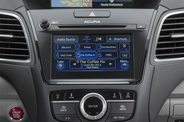 Acura RDX Radio