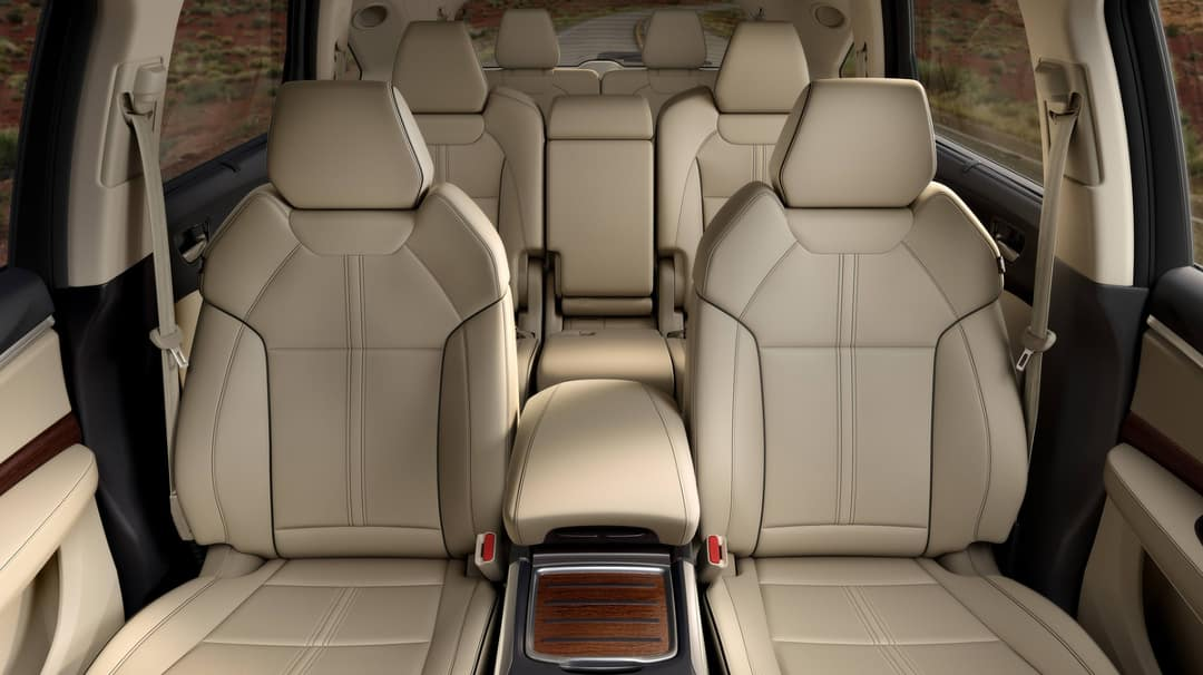 2018 Acura MDX Leather Seating