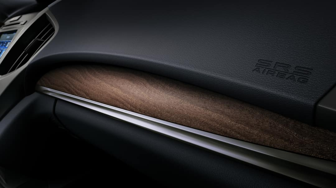 2018 Acura MDX wood trim