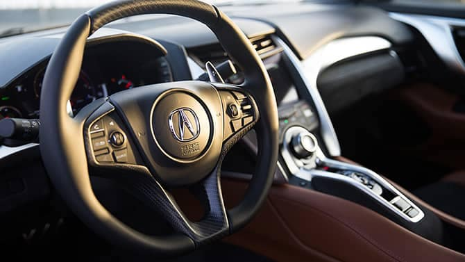 2018 Acura NSX Steering Wheel