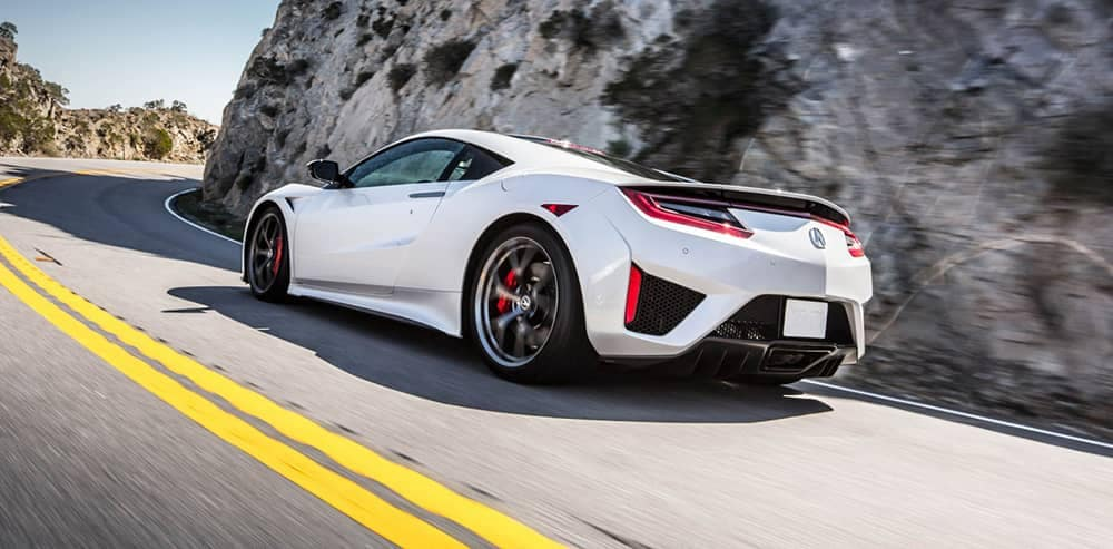 2018 Acura NSX Rear
