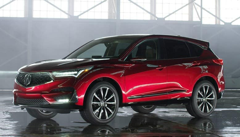 2019 Acura RDX Exterior Warehouse Front Angle