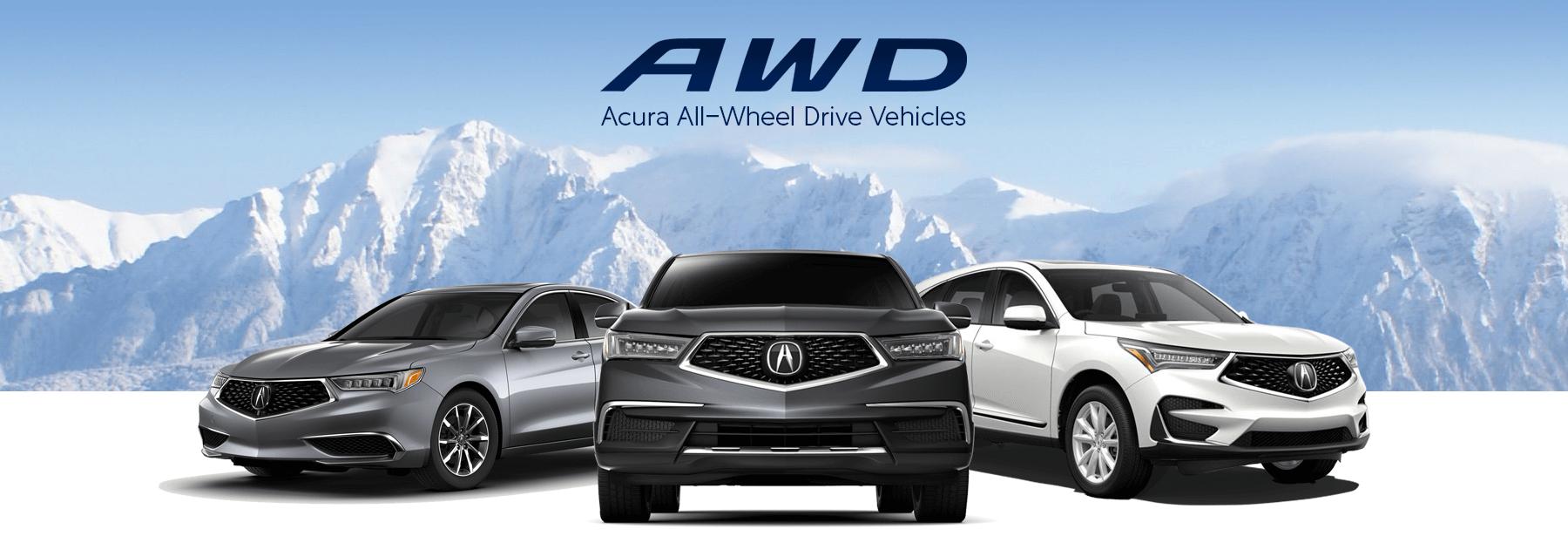 Acura All-Wheel Drive Vehicles