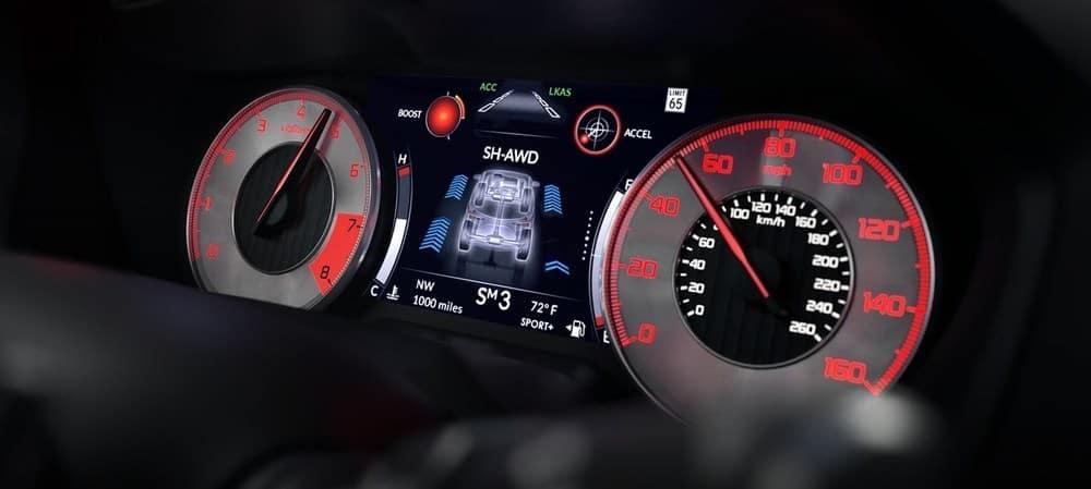 2019 Acura RDX Front Dash