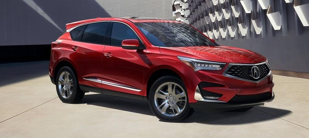 2019 Acura RDX Red Front Angle