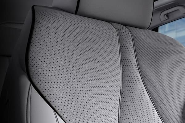 2019 Acura RDX leather perforated seats