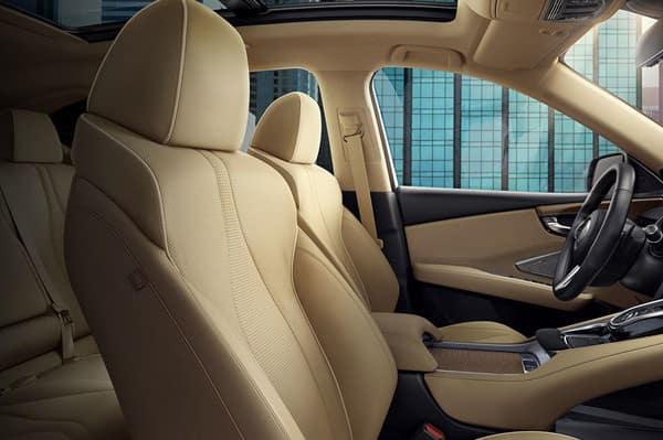 2019 Acura RDX leather seats
