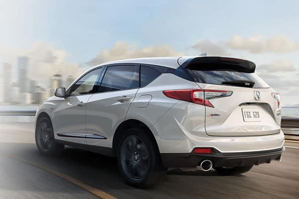 2019 Acura RDX on road