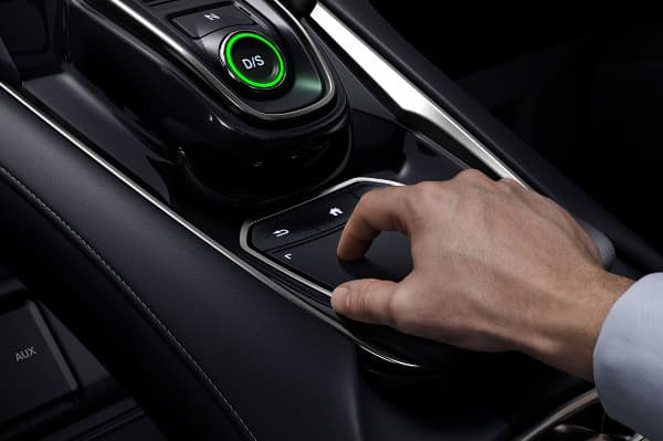 2019 Acura RDX touchpad interface