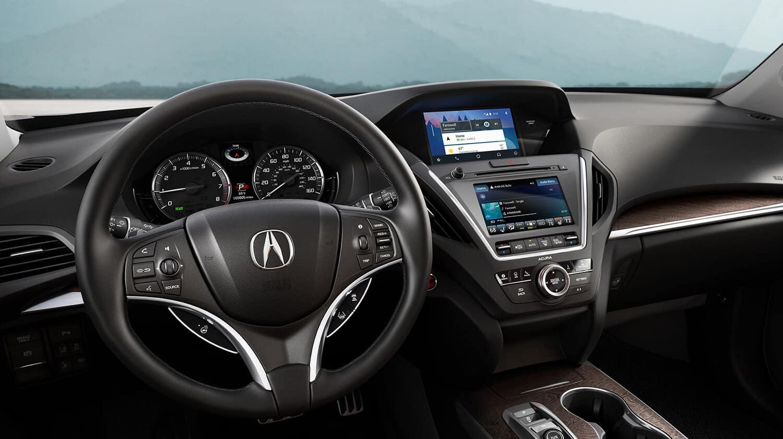 2019 Acura MDX Interior Cockpit Overview