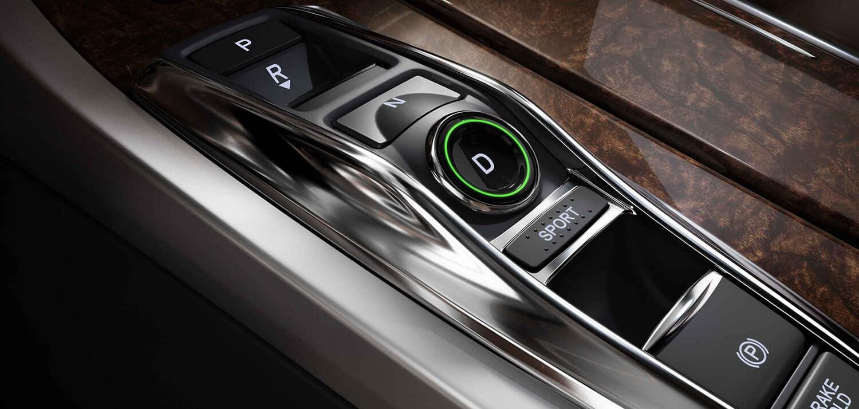 2019 Acura RLX Interior Electronic Gear Selector