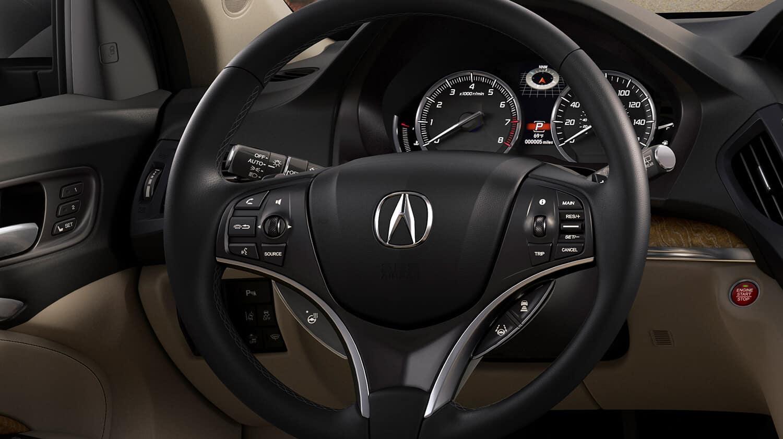 2019 Acura MDX Interior Driver POV