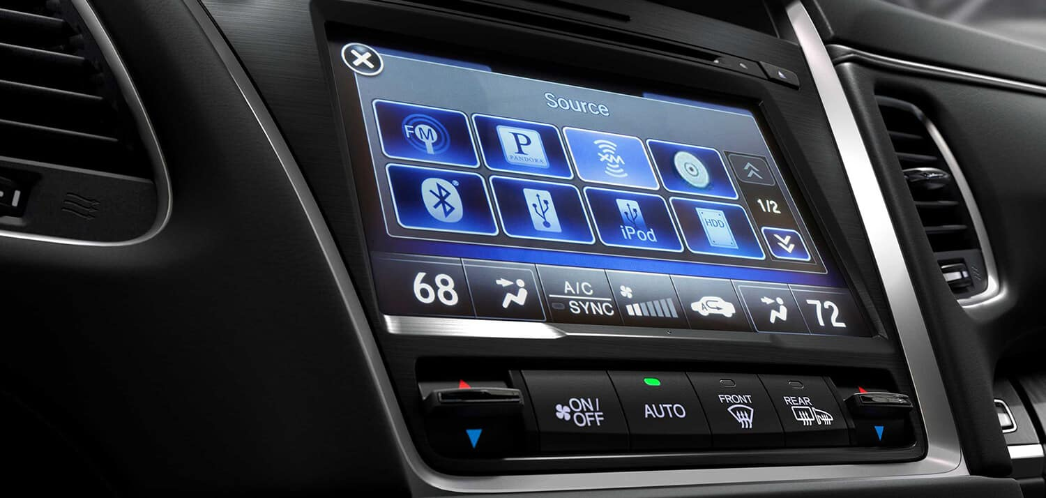 2019 Acura RLX On Demand Multi-Use Display