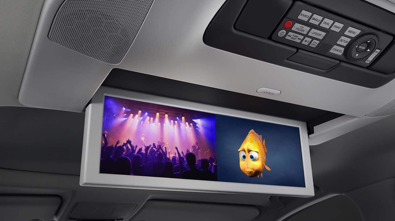 2019 Acura MDX Interior Rear Entertainment System