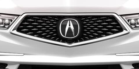 2019 Acura MDX Diamond Pentagon Grille