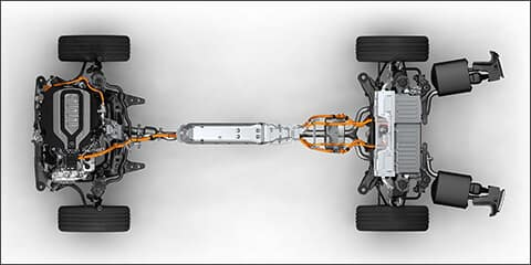 2019 Acura RLX Sport Hybrid System