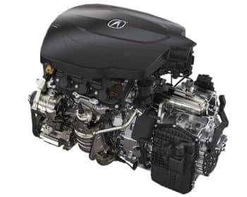 2019 Acura TLX V6 Engine