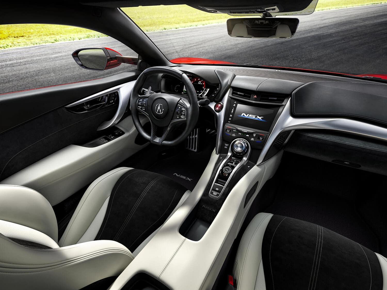 2019 Acura NSX Interior Cockpit