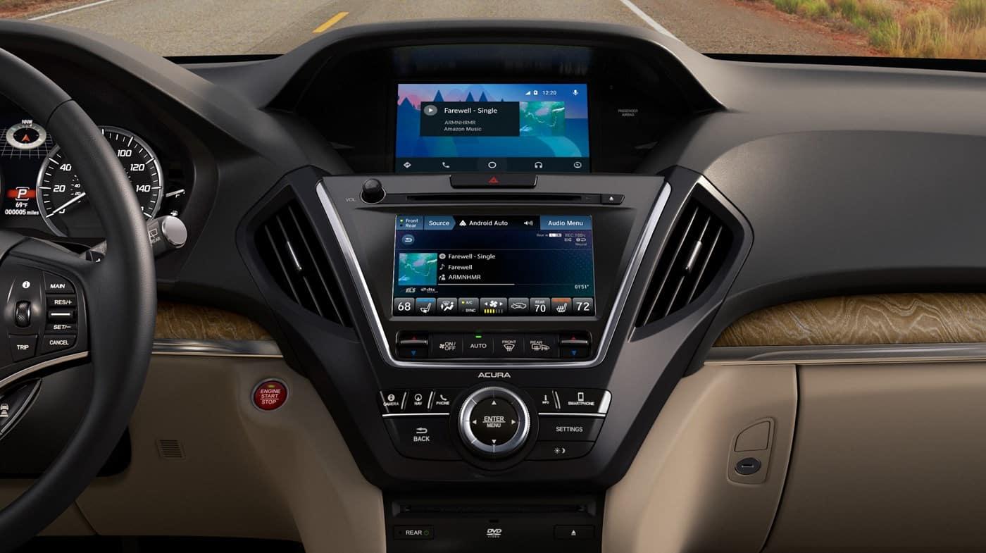 2019 Acura MDX Cockpit