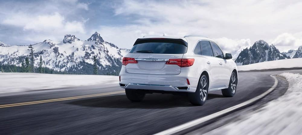2019 Acura MDX Winter Driving