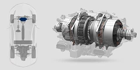2019 Acura NSX Twin Motor Unit