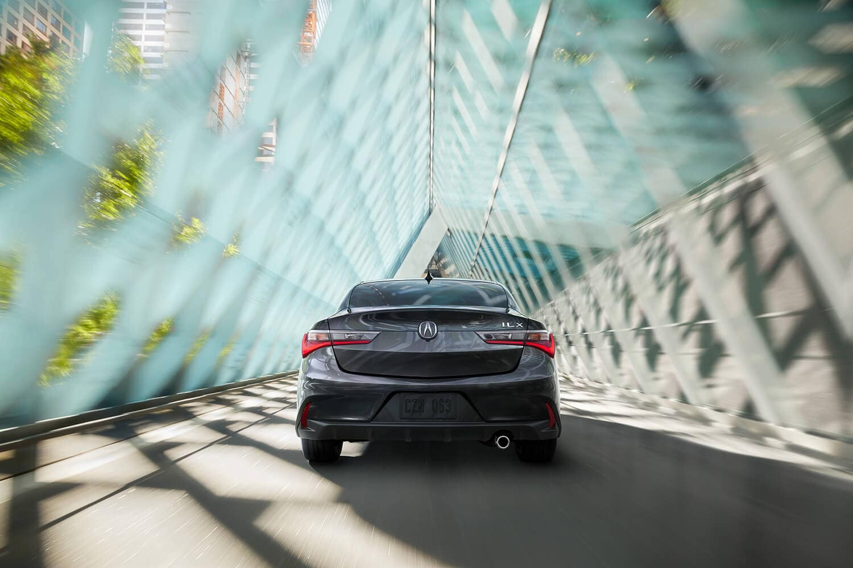 2019 Acura ILX Exterior Rear Angle Drive