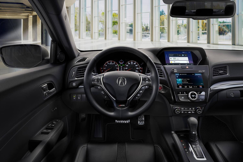 2019 Acura ILX Interior Driver POV