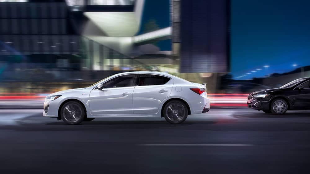 2019 Acura ILX Driving At night
