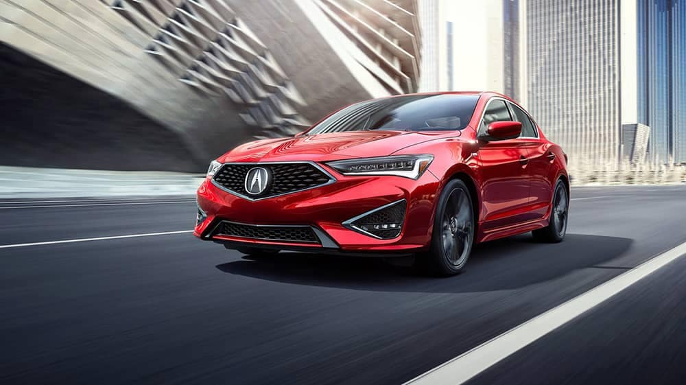 2019 Acura ILX Red