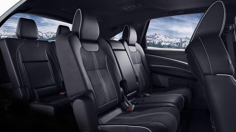 2019 Acura MDX Interior Alcantara trim seats