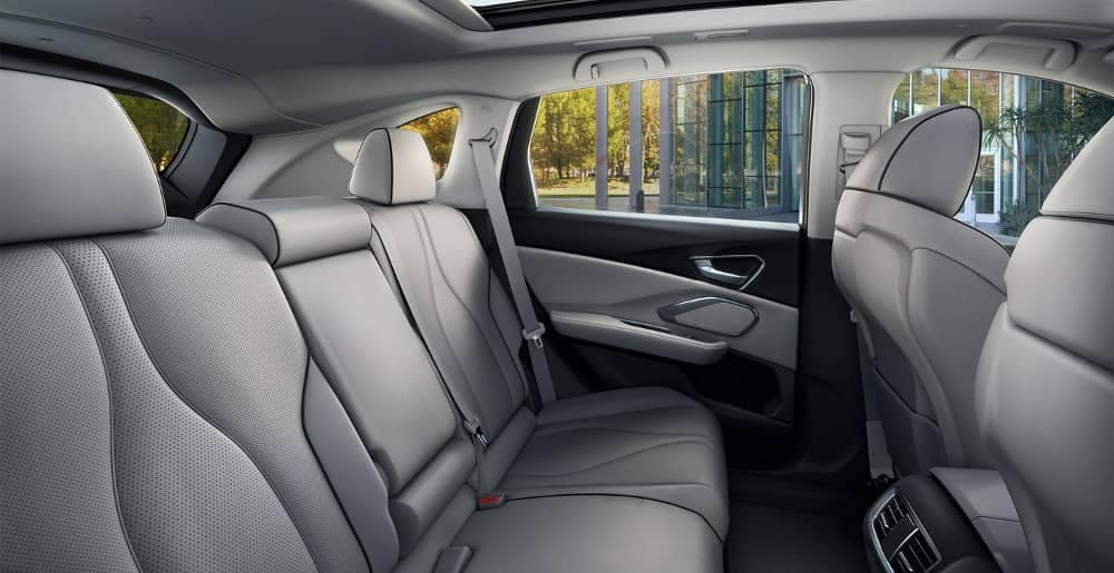 Graystone Perforated Seats in 2019 Acura RDX