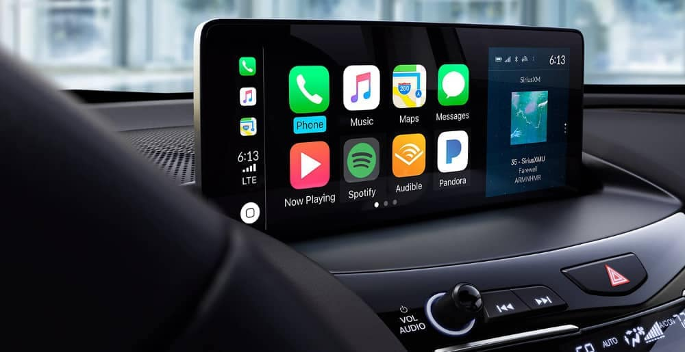 Infotainment with Apple CarPlay in 2019 Acura RDX