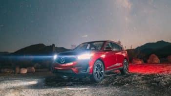 2019 Acura RDX At Night