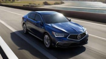 2019 Acura RLX Hybrid Driving